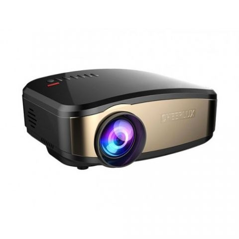 Cheerlux C6 Mini LED TV Projector