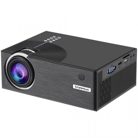 Cheerlux C7 Mini LED TV Projector