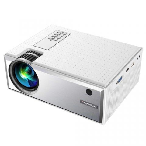 Cheerlux C8 WiFi Mini LED TV Projector