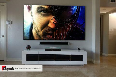 Dopah 4K ALR Ultra Thin Fixed Frame UST Screen