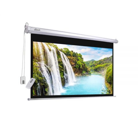 """Dopah Motorized/Electric Projection Screen 96"""" X 96"""""""