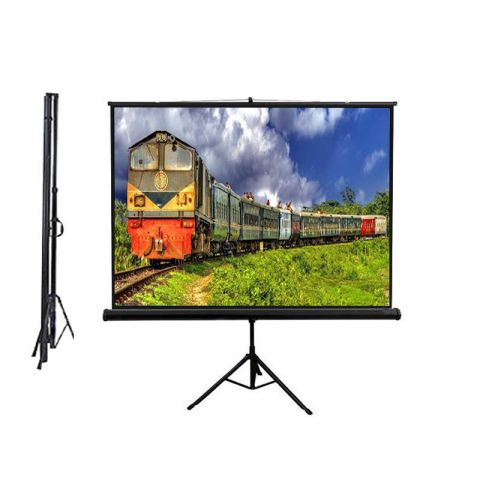 "Dopah Tripod Projector Screen 84"" x 84"" (7' x 7')  Matt White"
