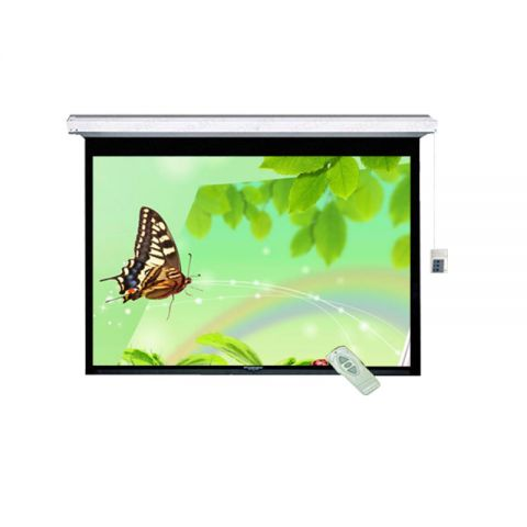 """DP Motorized/Electric Projection Screen 120"""" x 120"""""""