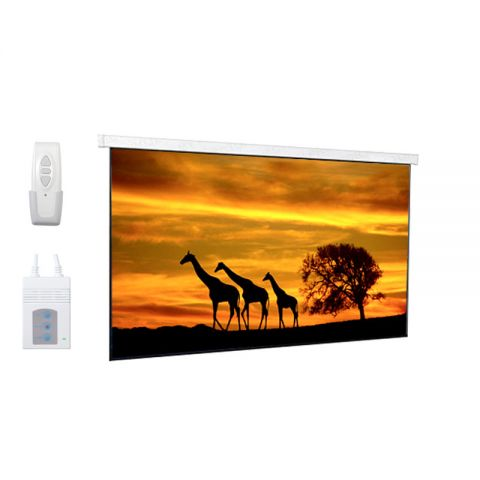 """DP Motorized/Electric Projection Screen 119""""D (58.3"""" x 103.7"""")"""