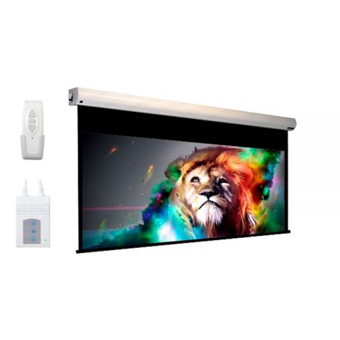 "DP Motorized/Electric Projection Screen 192"" x 192"" (Seamless)"