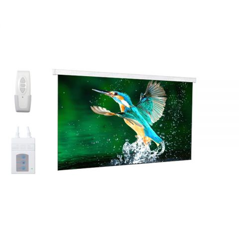 """DP Motorized/Electric Projection Screen 92""""D (45.1"""" x 80.2"""")"""