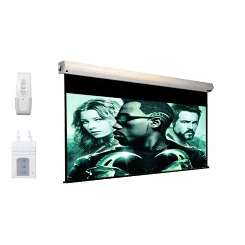 """DP Motorized/Electric Projection Screen 108"""" x 144"""""""