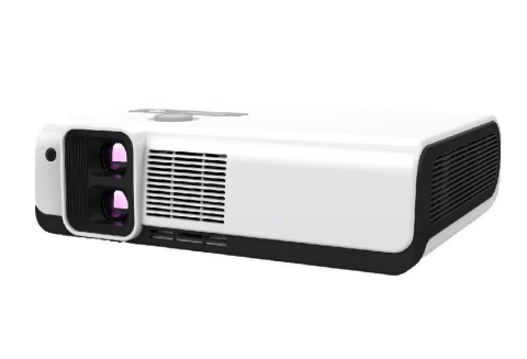 Dual Lens 3D Polarized Home Cinema Projector