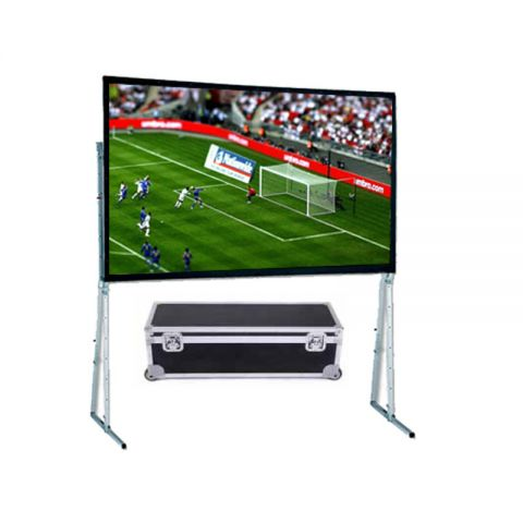 "Dopah Fast Fold Projector Screen 150""D (7.5' x 10')"
