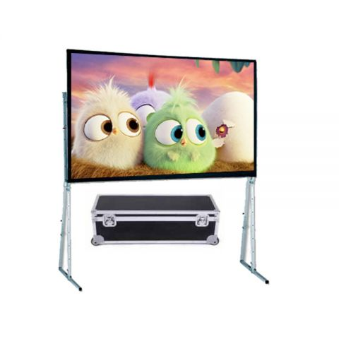 "Dopah Fast Fold Projector Screen 180""D (9' x 12')"