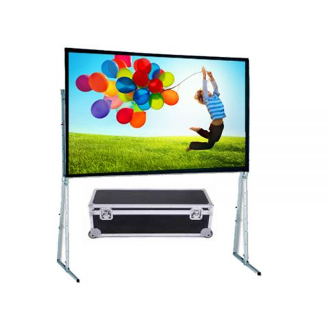 "Doaph Fast Fold Projector Screen 120""D (6' x 8')"