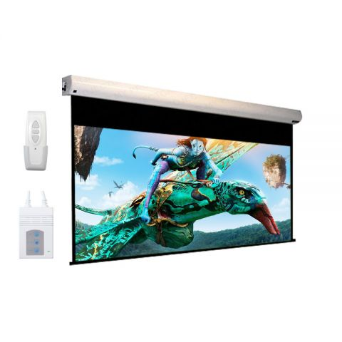 "Dopah Motorized Projection Screen 150""D (90"" x 120"")"