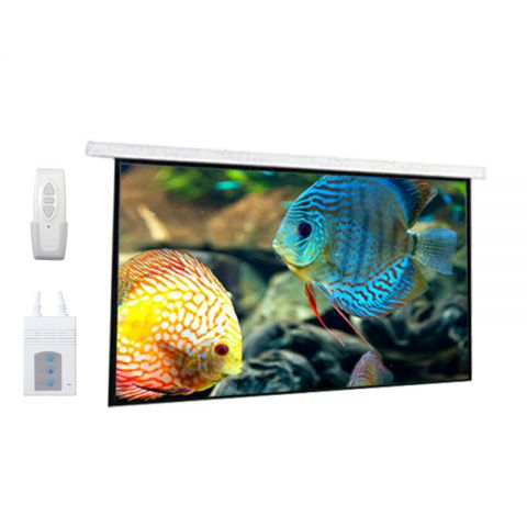 "Dopah Motorized Projection Screen 96"" x 96"""