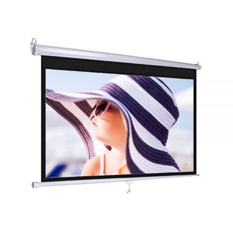 "Dopah Wall Projector Screen 60"" x 60"" Matt White"