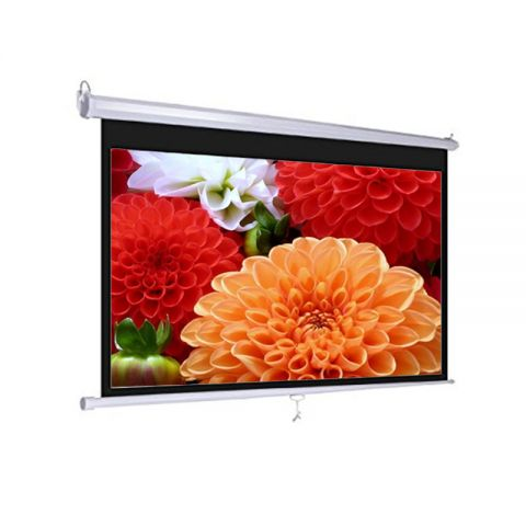 "Dopah Wall Projector Screen 70"" x 70"" Matt White"