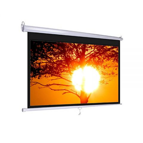 "Dopah Wall Projector Screen 84"" x 84"" Matt White"