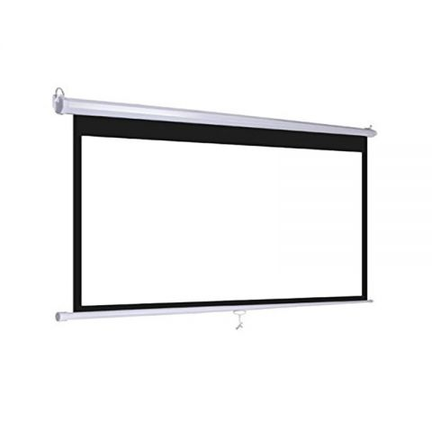 "Dopah Wall Projector Screen 90"" X 120""(150""D) Matt White"