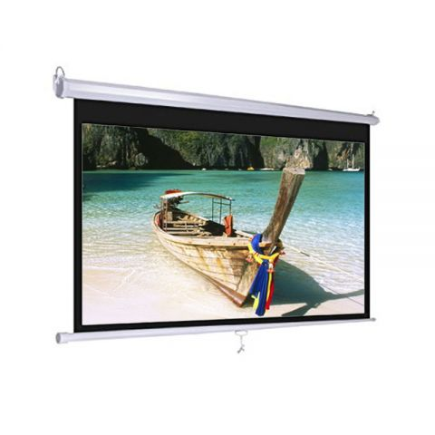 "Dopah Wall Projector Screen 96"" x 96"" Matt White"