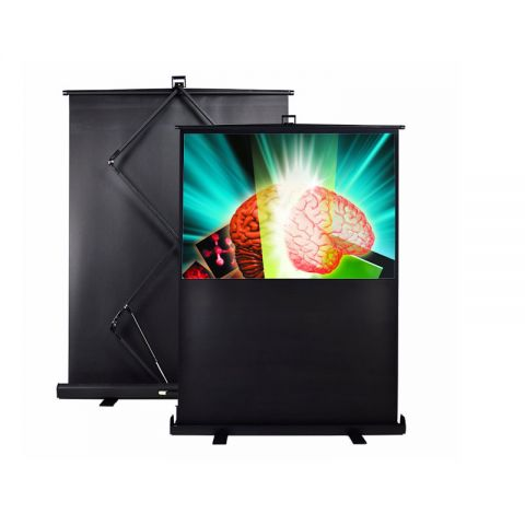 "V-Lite Floor Stand Screen 60"" (36"" x 48"")"